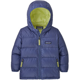 Patagonia Hi-Loft Giacca in piuma d'oca con cappuccio bambini Bambino, blu